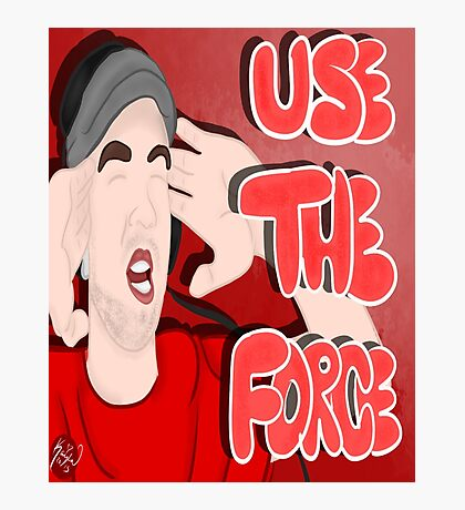 Use The Force - JackSepticEye Photographic Print