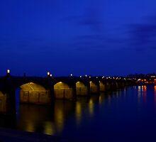 Market Street Bridge-Harrisburg, PA by BigD