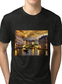 ROMANTIC VENICE, by E. Giupponi Tri-blend T-Shirt