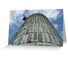 Vertical Silo Greeting Card