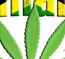 jamaica ganja Sticker