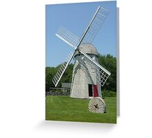 Jamestown Windmill Greeting Card