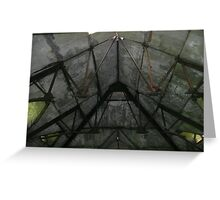 Rusted trusses Greeting Card