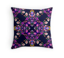 Mexican Folk pattern Throw Pillow