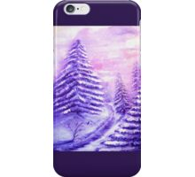 Christmas Moon iPhone Case/Skin