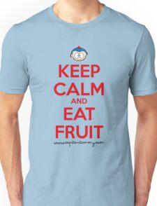 Capitan Timmy - Keep Calm and Eat Fruit Unisex T-Shirt