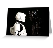 Face Off - Storm Troupers Greeting Card