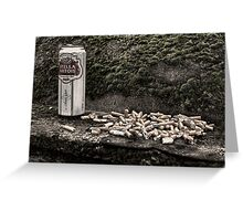 Cigarettes & Alcohol Greeting Card