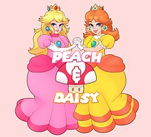 PEACH & DAISY by sharkgills