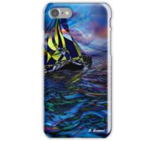 FOLLOWED BY THE MOON, by E. Giupponi iPhone Case/Skin