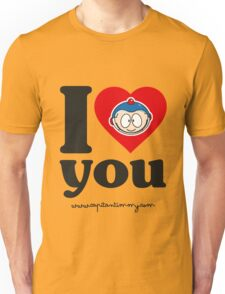 Capitan Timmy - I love you Unisex T-Shirt