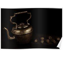Antique Teapot Poster
