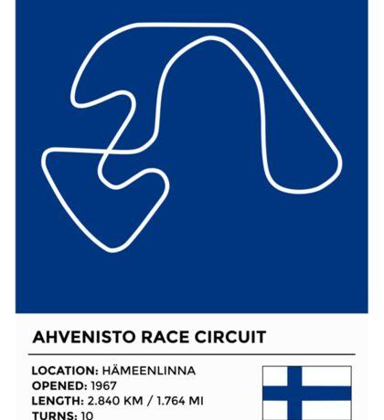 Ahvenisto Race Circuit Sticker