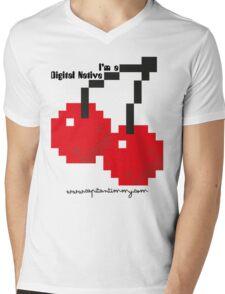 Capitan Timmy - I'm Digital Native Mens V-Neck T-Shirt