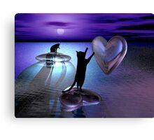 Castaway Cats Canvas Print
