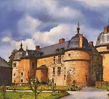 Castle Lavaux-Ste-Anne - Belgium by Gilberte
