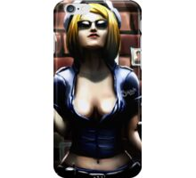 Pin Up Police Officer iPhone Case/Skin