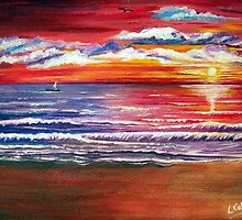 Magical Sunset  by Linda Callaghan