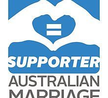 Australian Marriage Equality Supporter by Australian Marriage Equality