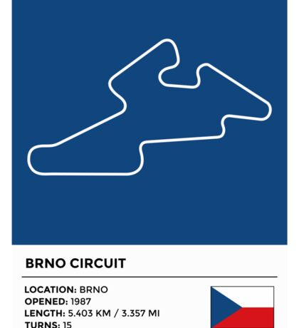 Brno Circuit Sticker