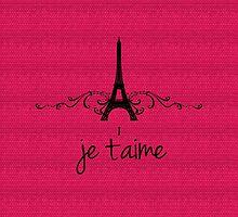 Pink Vintage French Flourish by superstarbing