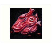 "Heart of ""Eye Heart U"" Art Print"