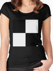 timesquare Women's Fitted Scoop T-Shirt