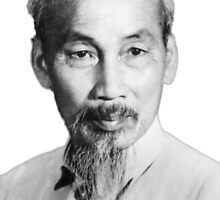 Ho Chi Minh Portrait by Paddy Conroy