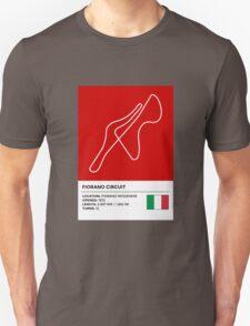 Fiorano Circuit - v2 Unisex T-Shirt