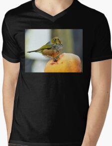 Apple Depreciation - Silver-Eye - NZ Mens V-Neck T-Shirt
