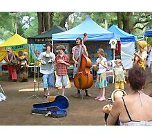 Bangalow Market Music Photographic Print