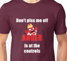 Anger is in charge Unisex T-Shirt