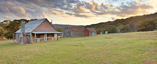 Coolamine Homestead, Kosciusko National Park, Australia by Michael Boniwell