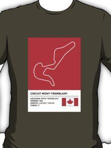 Circuit Mont-Tremblant T-Shirt
