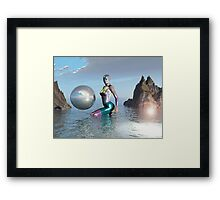 COVE OF REFLECTION Framed Print