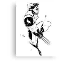 Comic Book Hero 1 Canvas Print
