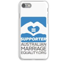 Australian Marriage Equality Supporter iPhone Case/Skin