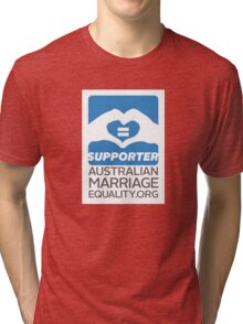 Australian Marriage Equality Supporter Tri-blend T-Shirt