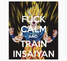 Never keep calm DBZ One Piece - Short Sleeve