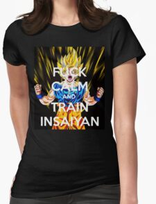 Never keep calm DBZ Womens Fitted T-Shirt