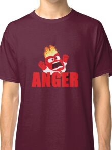 Anger Inside out Classic T-Shirt