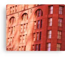 Brown Palace at Sunset Canvas Print