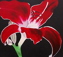 Painted Lilies Collection #5 by Laura Dhir