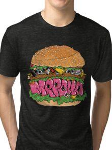 Fishing&Graffiti pt.2 Tri-blend T-Shirt