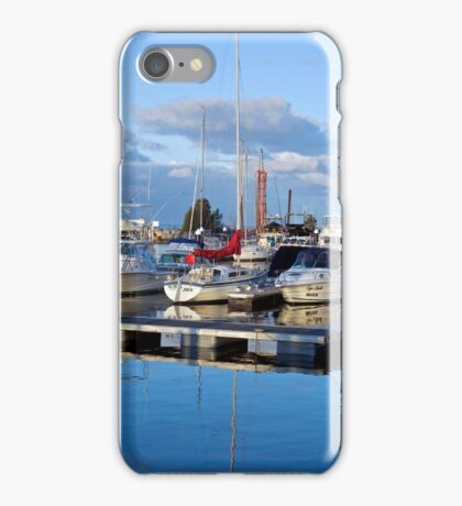 Harbour nearly asleep iPhone Case/Skin