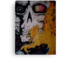 """Devour All You Cannot Burn"" Canvas Print"