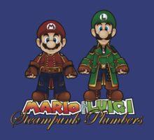 Super Mario Bros Steampunk Plumber by CosmicThunder