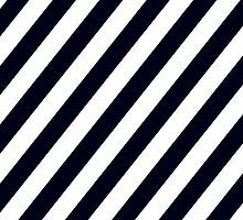 Black & White Stripes by XOOXOO
