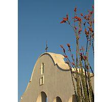 Mission San Xavier del Bac, AZ Photographic Print