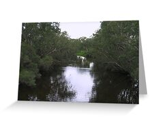 Avon River Reflections Greeting Card